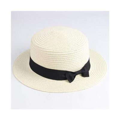 white / Adult size SUOGRY Beach Straw Hat  -  Cheap Surf Gear
