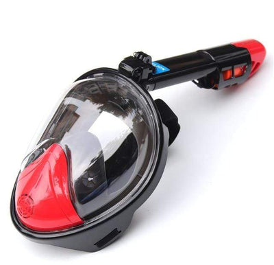 Regular-Red / S/M SUPERZYY Face Snorkel Mask  -  Cheap Surf Gear