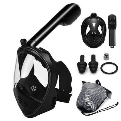 S1 / S/M SUPERZYY Face Snorkel Mask  -  Cheap Surf Gear