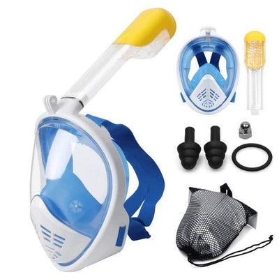 S2 / S/M SUPERZYY Face Snorkel Mask  -  Cheap Surf Gear