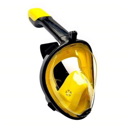 Flat Face New 01 / S/M SUPERZYY Full Face Diving Mask  -  Cheap Surf Gear