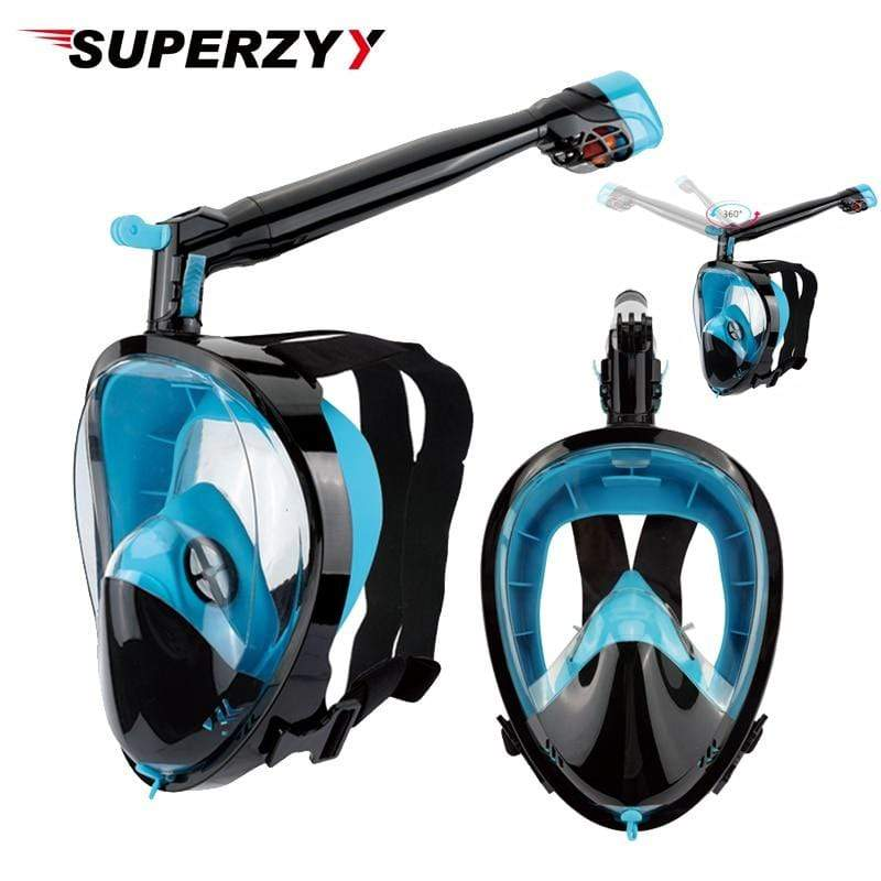 SUPERZYY Scuba Diving Mask  -  Cheap Surf Gear