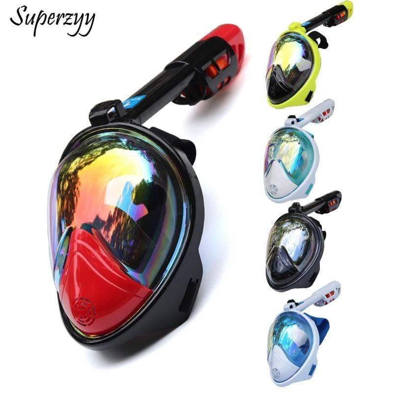 SUPERZYY Underwater Snorkel Mask