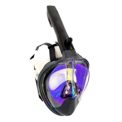 Carbon Blue / S/M SUPERZYY Underwater Snorkel Mask  -  Cheap Surf Gear