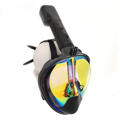 Carbon Gold / S/M SUPERZYY Underwater Snorkel Mask  -  Cheap Surf Gear