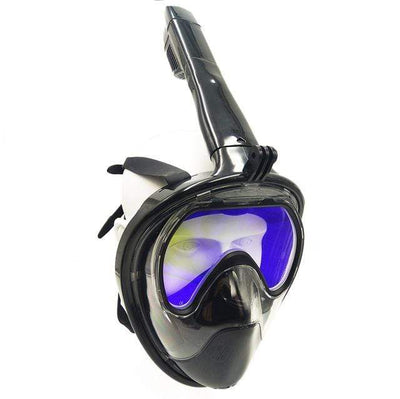 Tempered glass / S/M SUPERZYY Underwater Snorkel Mask  -  Cheap Surf Gear