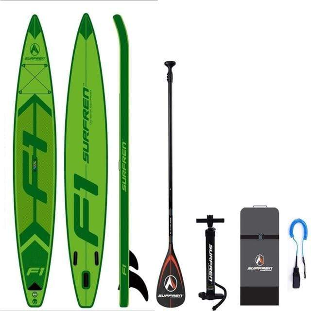 SURFREN Blow Up Paddle Board (428*76*15cm)  -  Cheap Surf Gear