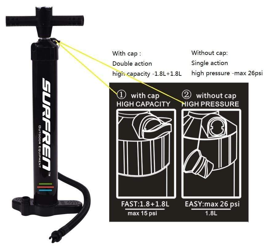 SURFREN Kayak Pump  -  Cheap Surf Gear