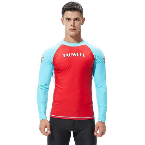 TAUWELL Rash Guard Long Sleeve Mens