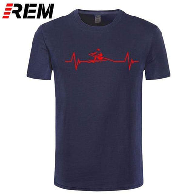 navy red / S UPTOAILEI Kayaking Tshirt  -  Cheap Surf Gear