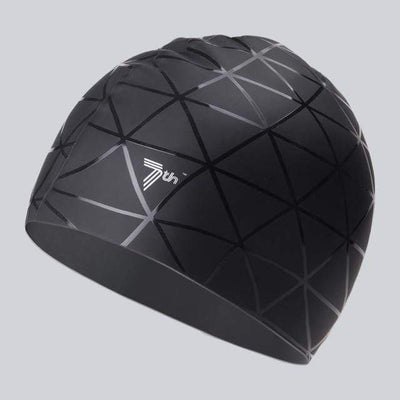 Black VECTOR Swimming Cap  -  Cheap Surf Gear