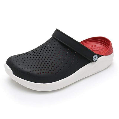 Black Red / 4 WARM LIKE HOME Black Crocs  -  Cheap Surf Gear