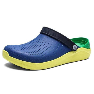 Cowboy Blue / 4 WARM LIKE HOME Black Crocs  -  Cheap Surf Gear