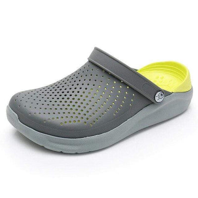 Gary Yellow / 4 WARM LIKE HOME Black Crocs  -  Cheap Surf Gear