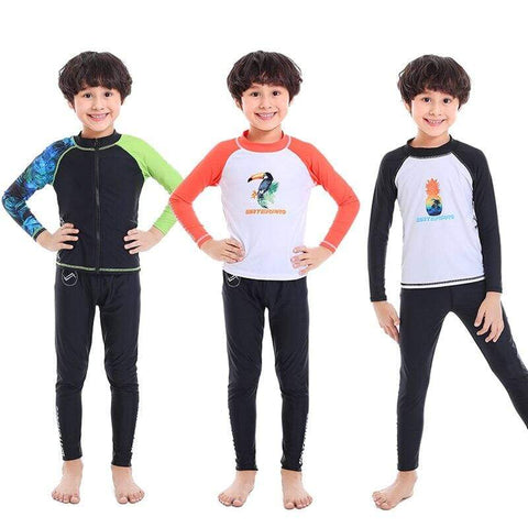 WATER PRO Boys Rash Guard