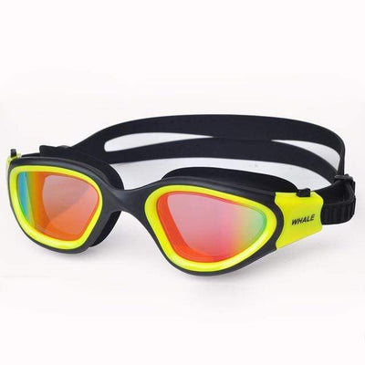 Yellow WHALE Underwater Goggles  -  Cheap Surf Gear