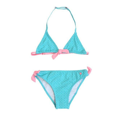 blue / 10Y-(140cm) XABER KIN Girls Two Piece Swim Suit  -  Cheap Surf Gear