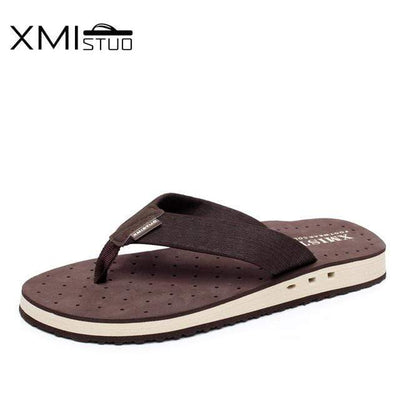 Brown / 41 XMISTUO Cool Flip-Flops  -  Cheap Surf Gear