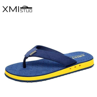 Sky Blue / 41 XMISTUO Cool Flip-Flops  -  Cheap Surf Gear