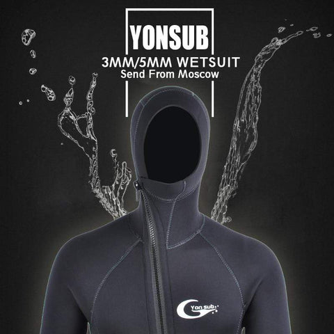 YON SUB 3MM/5MM Hooded Wetsuit