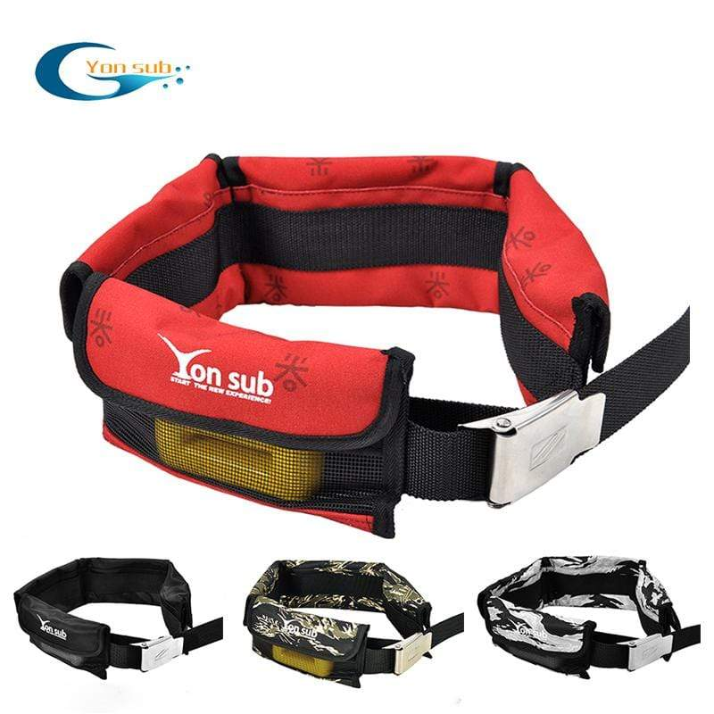 YON SUB Diving Weight Belt  -  Cheap Surf Gear