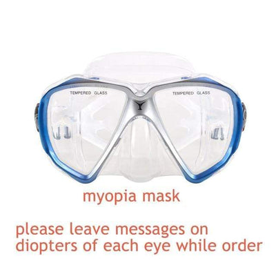 myopia mask YON SUB Mask And Snorkel Set  -  Cheap Surf Gear