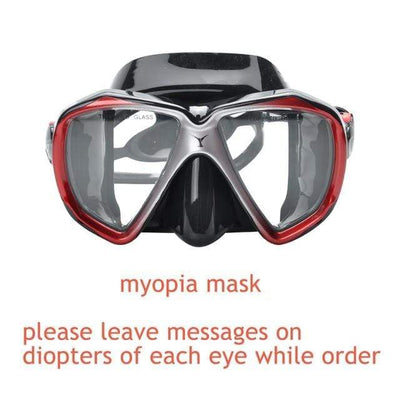 myopia mask 2 YON SUB Mask And Snorkel Set  -  Cheap Surf Gear