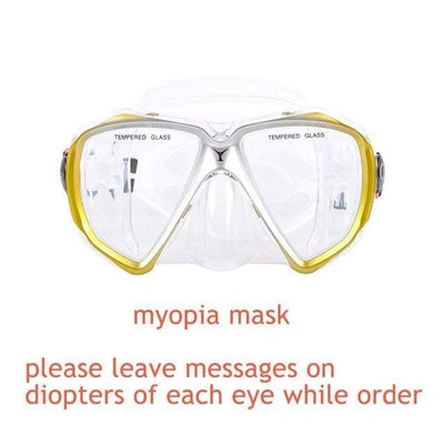 myopia mask 3 YON SUB Mask And Snorkel Set  -  Cheap Surf Gear