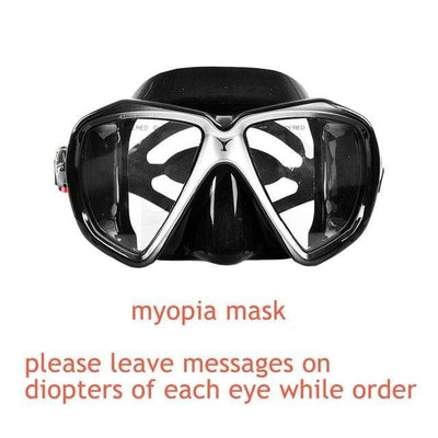 myopia mask 4 YON SUB Mask And Snorkel Set  -  Cheap Surf Gear