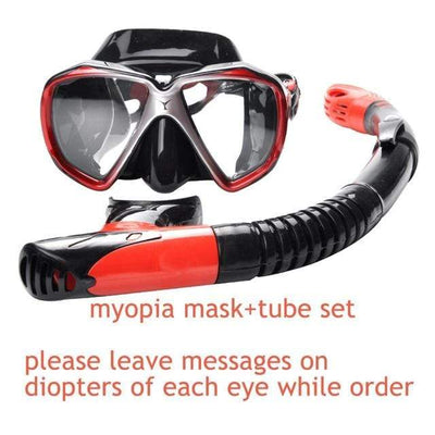 myopia mask set 3 YON SUB Mask And Snorkel Set  -  Cheap Surf Gear