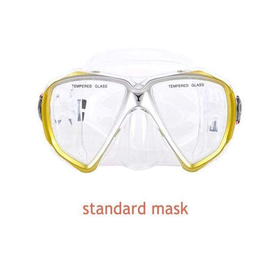 standard mask 3 YON SUB Mask And Snorkel Set  -  Cheap Surf Gear