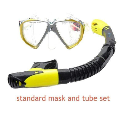 standard mask set YON SUB Mask And Snorkel Set  -  Cheap Surf Gear