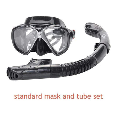 standard mask set 4 YON SUB Mask And Snorkel Set  -  Cheap Surf Gear
