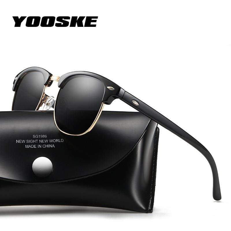 YOOSKE Retro Sunglasses  -  Cheap Surf Gear