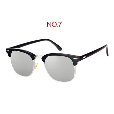 NO7 / China / Multi YOOSKE Retro Sunglasses  -  Cheap Surf Gear