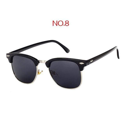 NO8 / China / Multi YOOSKE Retro Sunglasses  -  Cheap Surf Gear
