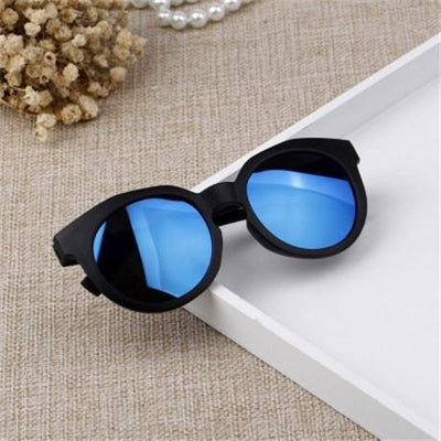 Blue / Multi YWJANP Sunglasses For Girls  -  Cheap Surf Gear