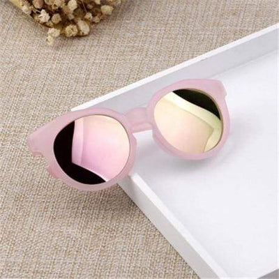 Pink / Multi YWJANP Sunglasses For Girls  -  Cheap Surf Gear