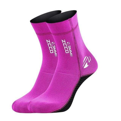 B / XS ZCCO Diving Socks  -  Cheap Surf Gear
