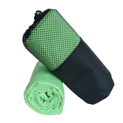 Light Green / 80cm  160cm / China ZIPSOFT Fast Drying Towels  -  Cheap Surf Gear