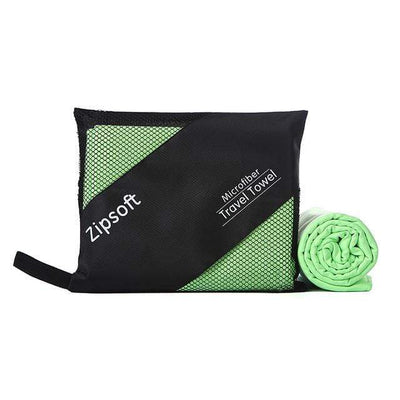 Light Green / 90cm  180cm / China ZIPSOFT Microfiber Towel  -  Cheap Surf Gear