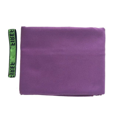 Purple / 80cm  x  160cm / CHINA ZIPSOFT Surf Towel  -  Cheap Surf Gear