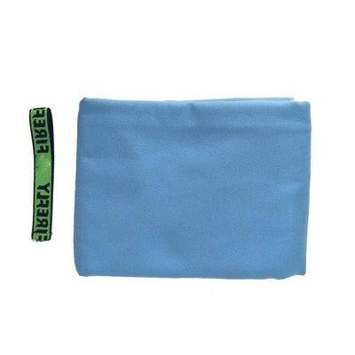 Sky Blue / 80cm  x  160cm / CHINA ZIPSOFT Surf Towel  -  Cheap Surf Gear