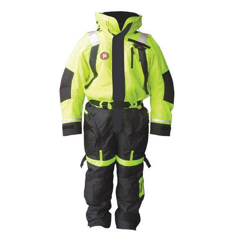 First Watch Anti-Exposure Suit - Hi-Vis Yellow/Black - Medium