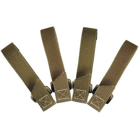 Maxpedition 3.0 in TacTie Pack of 4 Khaki