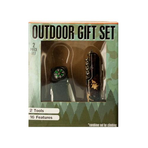 Outdoor Multi-Function Tool Gift Set ( Case of 2 )