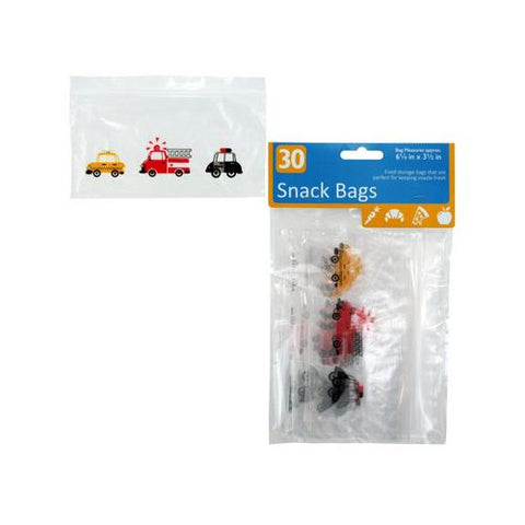 Decorative Snack Bags ( Case of 96 )