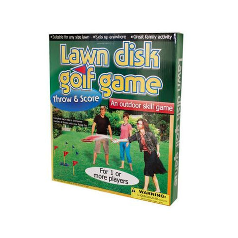 Lawn Disc Golf Game ( Case of 1 )