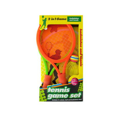2 in 1 Badminton and Tennis Game Set ( Case of 9 )