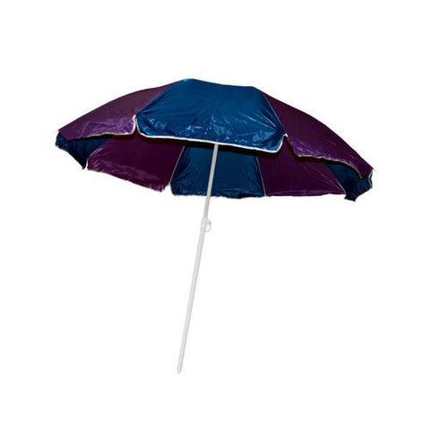 Large Beach Umbrella with Two Part Pole ( Case of 4 )